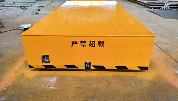 KPC电缆卷筒轨道平车
